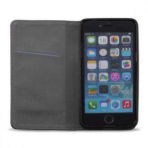 Plånboksfodral magnet iPhone 5/5S/5SE - Svart