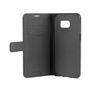 XQISIT Plånboksfodral magnet Samsung Galaxy S7 - Svart