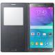 Samsung Galaxy Note 4 SM-N910F 32GB Svart Läderfodral med fönster | TOPPSKICK | OLÅST